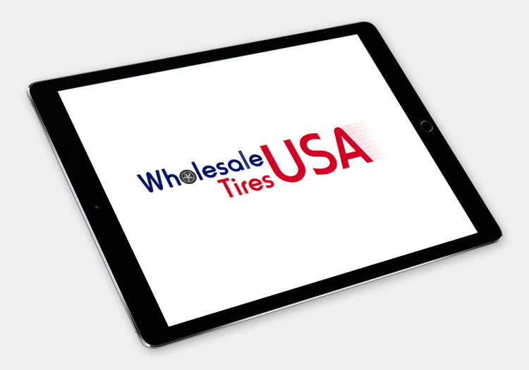 Wholesale Tires USA 3 Logo