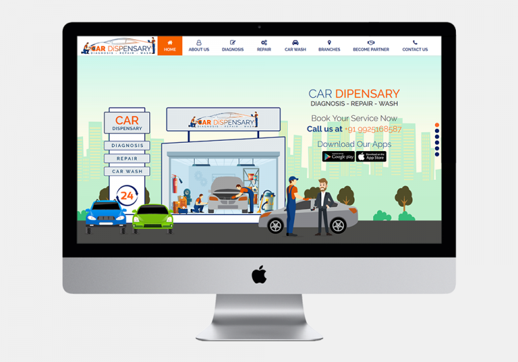 Car Dispensary Website