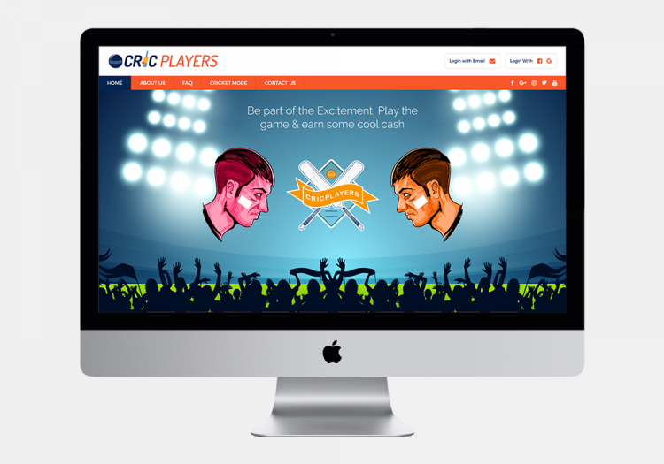 Cricplayers Website