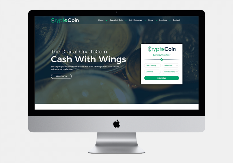 Cryptocoin Website