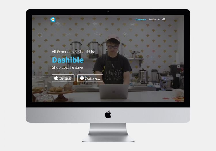 Dashible Website