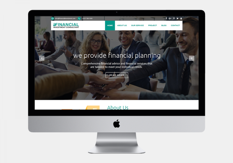 Financial Investment Consultant 1 Website