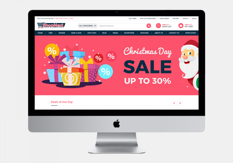 Shopnext Fast Shopping Website