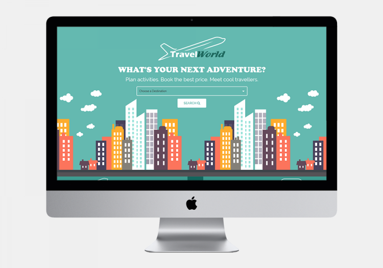 Travel World Website