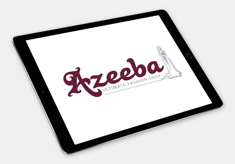 Azeeba Ultimate Fashion Logo